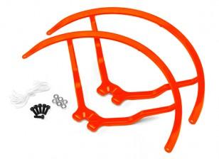 9 pollici di plastica universale multi-rotore Elica Guardia - Orange (2set)