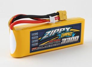 ZIPPY Compact 3300mAh 3S 40C Lipo Confezione