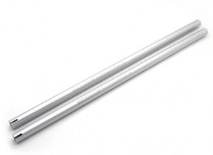 Tarocchi 450 PRO V2 Tail Boom (2 pezzi) - argento (TL45037-03)