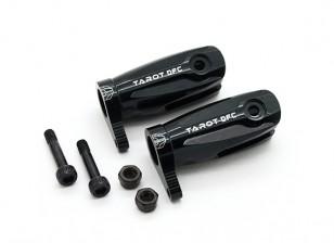 Tarot 450 Pro Pro Grip Assembly / V2 DFC principale Blade (grande cuscinetto) - Nero (TL48010-B)