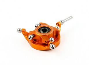 Tarot 450 Pro / Pro V2 DFC / CCPM metallo ultraleggero Swashplate - Orange (TL48030-02)