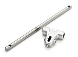 Tarocchi 450 DFC basso profilo del rotore principale Custodia con mandrino - argento (TL45163A)