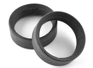 Squadra Sorex 24 millimetri modellati pneumatici inserti tipo A Firm (2 pezzi)