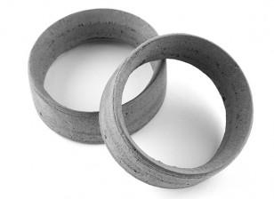 Squadra Sorex 24 millimetri modellati pneumatici inserti di tipo B Medio (2 pezzi)