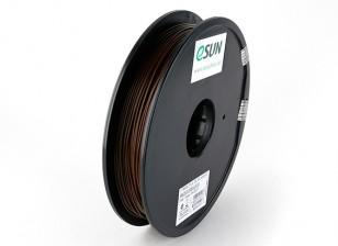 Stampante 3D ESUN filamento Brown 1,75 millimetri PLA 0.5KG Spool
