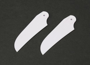 RJX Bianco 85 millimetri di plastica Lame di coda (1 coppia)