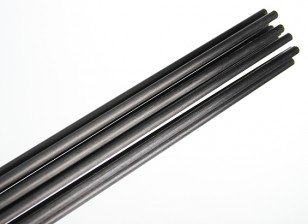 Carbon Fiber Rod (solido) 1x750mm