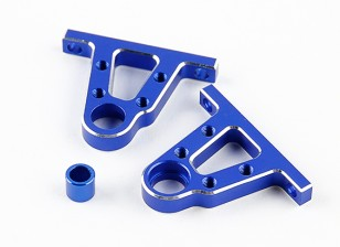 Alu. Centro Pulley Support Set - The Devil 1/10 4WD Drift Car