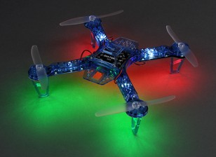 Dipartimento Funzione Pubblica FPV250 V4 blu fantasma Edition LED Night Flyer FPV Quadrirotore (Blu) (Kit)