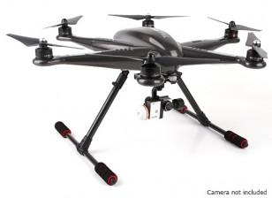 Walkera Tali H500 GPS Hexacopter con 3 assi del giunto cardanico e batteria (PNF)