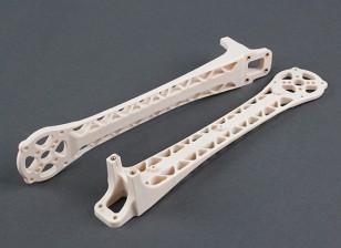Upswept upgrade armi per DJI Flamewheel stile Multirotors V500 / H550 (Bianco) (2pz)