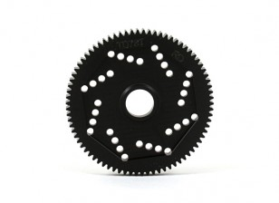 Design Revolution 48DPX 78T R2 Precision Spur Gear per Hex Tipo Slipper Pad