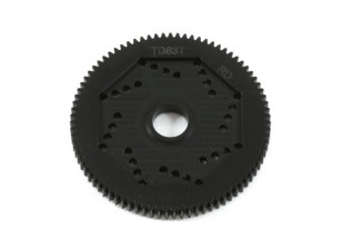 Design Revolution 48DPX 83T R2 Precision Spur Gear per Hex Tipo Slipper Pad