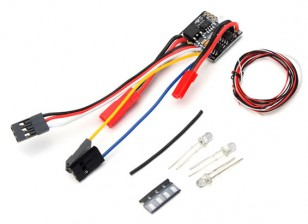 2 in 1 2S Lipo ESC w / LED Light Set - Kit OH35P01 1/35 Rock Crawler