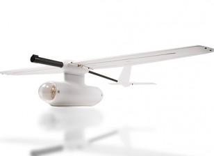 Zeta Sky Observer FPV aereo in fibra di carbonio / EPO 2.000 millimetri bianco (Kit)