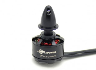 LDPOWER MT1306-3100KV Brushless Multicopter motore (CCW)