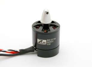 Black Widow 2216 640KV con built-in ESC CW