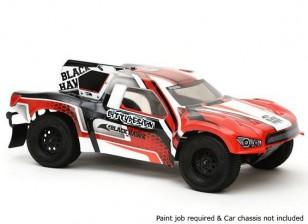 Bittydesign Black Hawk Corso 1/10 Breve Camion Carrozzeria