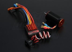 Trackstar 1/18 ° del sistema di alimentazione Scala 12T Brushless (5050kv)