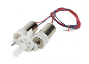DEPS-6S Dipartimento Funzione ™ dual Geared spazzolato sistema motore
