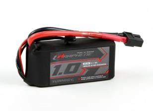Turnigy grafene 1000mAh 3S 65C Lipo del pacchetto w / XT60