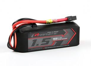 Turnigy grafene 1500mAh 4S 65C LiPo pacchetto w / XT60