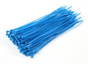 Fascette 150mm x 3mm blu (100pcs)