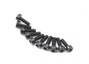 Metallo esagono macchina esagonale Vite M2x6-10pcs / set