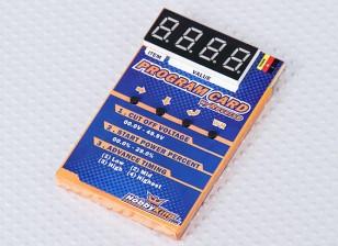 Scheda di programmazione HobbyKing® ™ per auto ESC