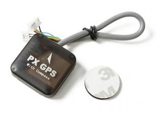 GPS uBlox 7 Series Nano PX con la bussola per Pixhawk / PX4