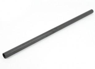 Fibra di carbonio a tubo tondo 1000x40x37mm
