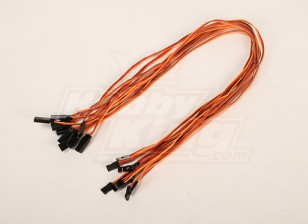 60CM Servo Extention piombo (JR) 26 AWG (10pcs / bag)