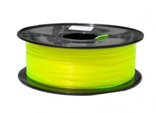 Dipartimento Funzione 3D filamento stampante 1,75 millimetri PLA 1KG spool (giallo brillante)
