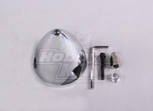Spinner alluminio 64mm / 2,5 pollici 3 pale