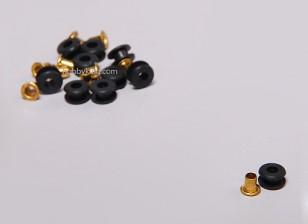 Rubber Grommet per i servi (10pcs / set)