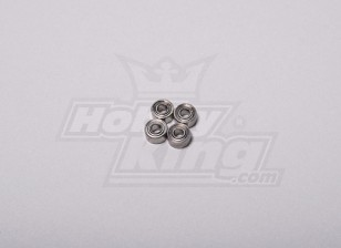 HK-250GT cuscinetto a sfere 5 x 2,5 x 2 mm (4pcs / set)