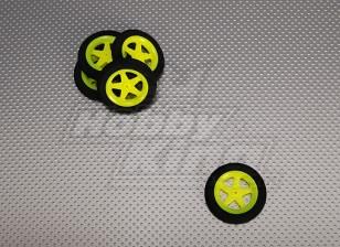 Super Light 5 Spoke Wheel D46xH9 (5pcs / bag)