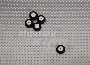 Piccola ruota diametro: 16 millimetri Larghezza: 10mm (5pcs / bag)