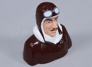 Resina Dick Dastardly Pilot (H80 x W85 x D52mm)