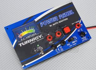 Turnigy Potenza MkII pannello con l'ampère Meter & Caricabatteria Glow a distanza