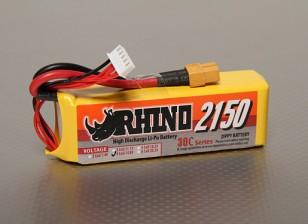 Rhino 2150mAh 14.8V 30C 4S Lipoly Confezione