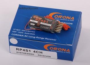 Corona sintetizzato Receiver 4Ch 72MHz (v2)