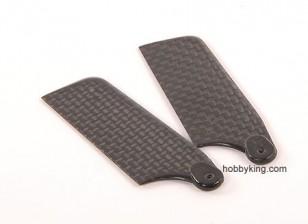 62 millimetri in fibra di carbonio TIG Tail Blade