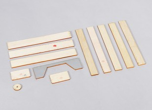 P-40N 1.700 millimetri - Sostituzione di legno Confezione
