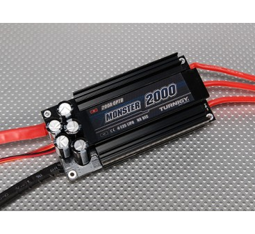 Turnigy mostro-2000 200A 4-12S Brushless ESC