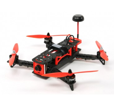 KINGKONG 260 FPV corsa Drone Plug & Play (Red)