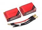 4800mAh 7.4V 50C Lipo 2S3P Car Pack