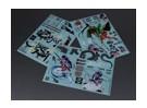 Auto Sticker Foglio Adesivo - Bakuretu Gekisin 1/10 Scala