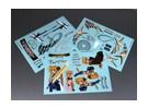 Auto Sticker Foglio Adesivo - Fate T Halaown 1/10 Scala