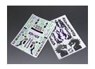 Auto Sticker Foglio Adesivo - Drift 1/10 Scala